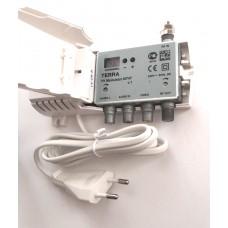 модулятор TERRA MT47 стерео( video, 2audio IN- rf OUT)