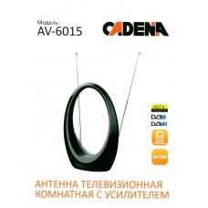 Антенна AV-6015 комнатная с усилителем