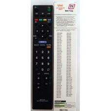 Пульт Sony TV/LCD universal RM-715A HUAYU