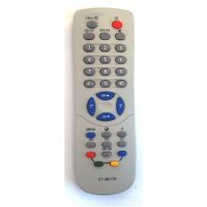 Пульт Toshiba CT-90119 (CT-90161)(TV) с т/т